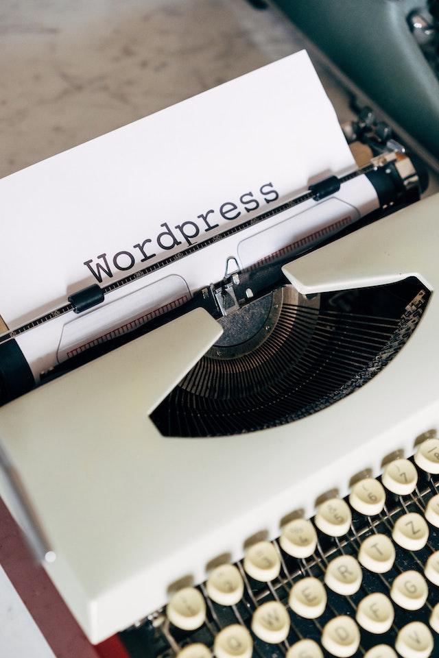 typewriter wordpress maintenance packages